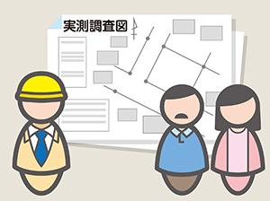 土地に関する業務の流れ
