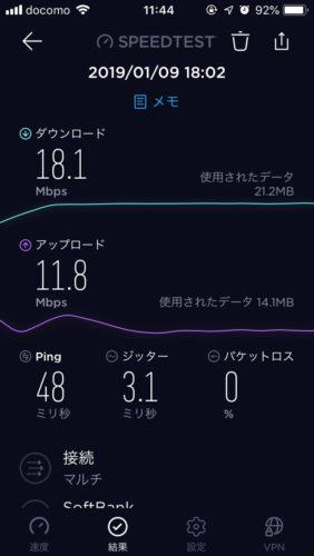 スターWi-Fi通信速度
