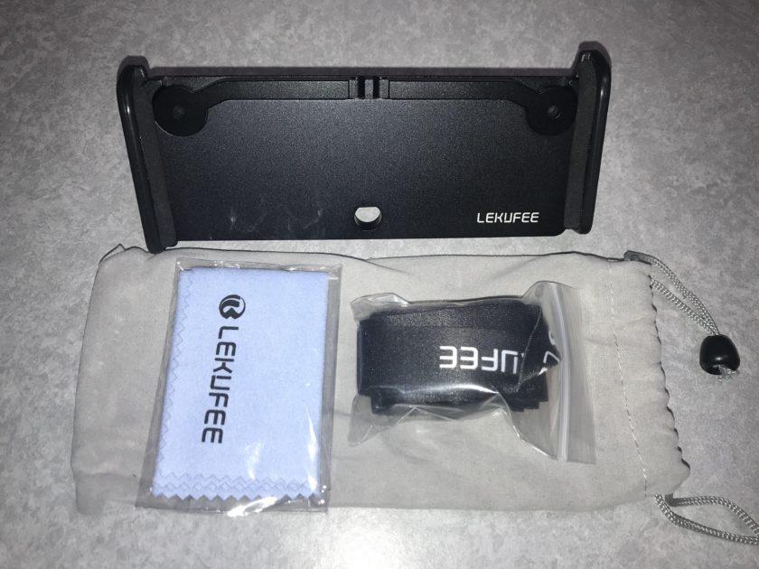Lekufee DJI Mavic 2 Pro/Mavic 2 Zoom/Mavic Air DJI Spark 受信機用 タブレットホルダー