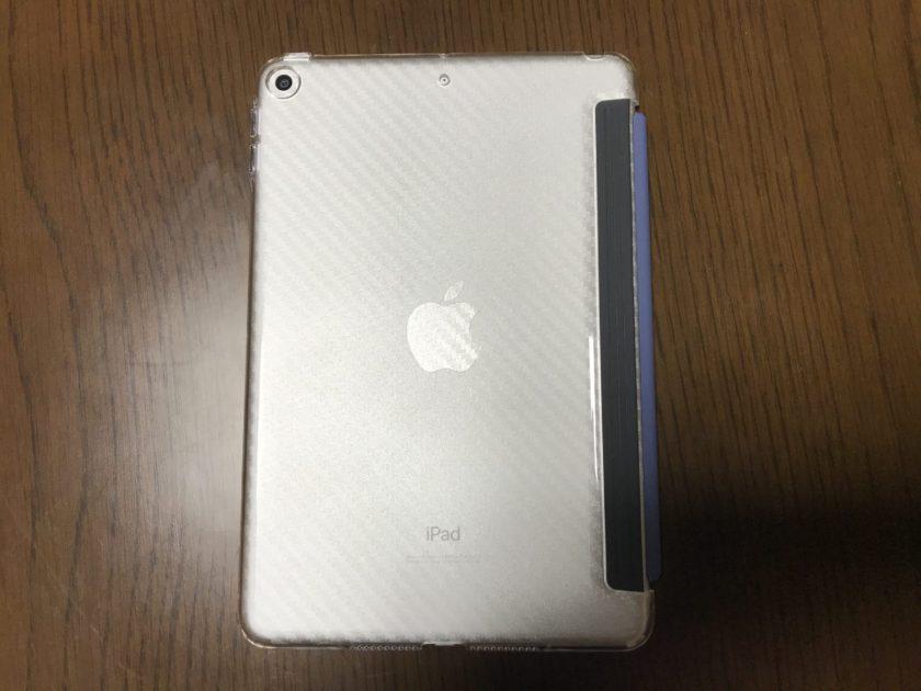 iPad mini 背面保護クリアケース